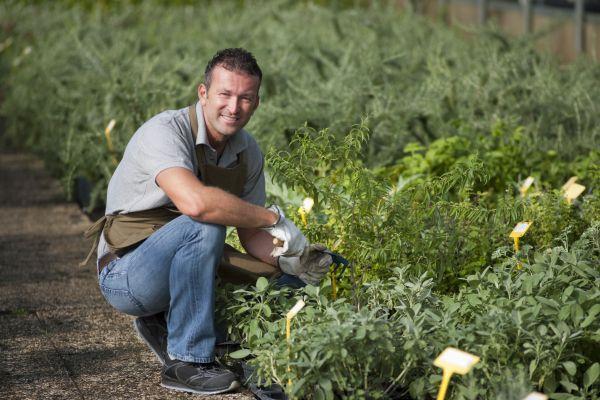 gardening worker